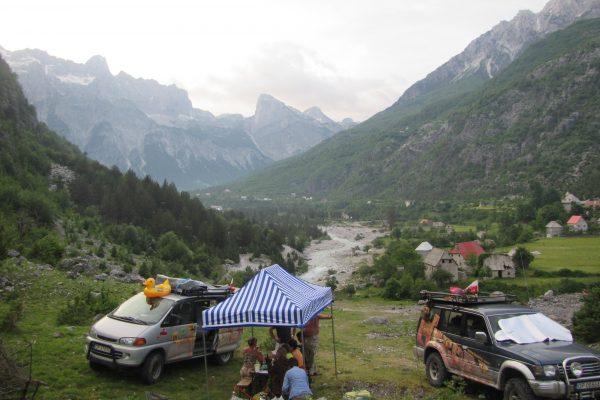 Albania, wyprawa