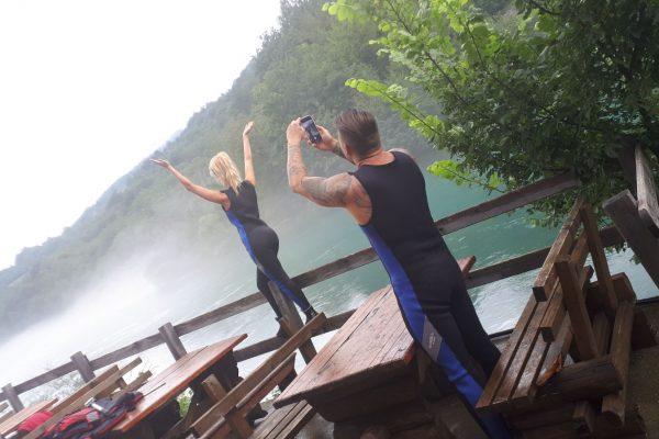 Czarnogóra, rafting, wyprawa z Miss Polski