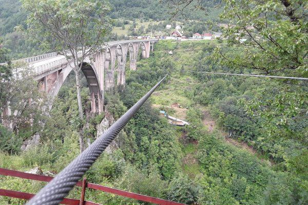 zip-line Most Đurđevića
